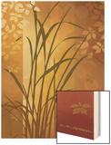 Autumn Sunset II Wood Print by Edward Aparicio