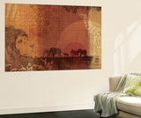 Safari Sunset II Wall Mural by Tandi Venter