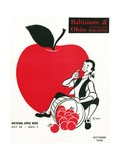 National Apple Week 1948 Giclee Print by  W.D.P.