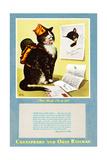 Peake's Favorite Pin-Up Girl Giclee Print by Charles Bracker