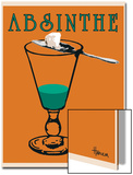 Absinthe Posters by Lee Harlem