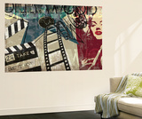 Forever Glam Wall Mural by Tandi Venter