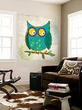 Who's Hoo I Wall Mural by Tandi Venter