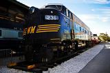The Western Maryland R.R. 236 Photographic Print by Amanda Barrett