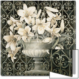 Lilies in Urn Prints by Linda Thompson