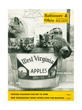 West Virginia Apples Giclee Print