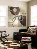 Hoops 'n' Loops I Wall Mural by Tandi Venter