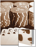Poker Print by Boyce Watt