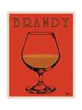 Brandy Metal Print by Lee Harlem