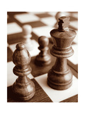 Chess Metal Print by Boyce Watt