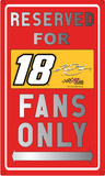Kyle Busch Sign Tin Sign