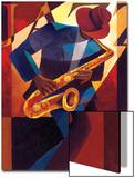 Bebop Poster von Keith Mallett