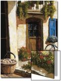 De vuelta del mercado Póster por Gilles Archambault