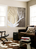 Deer Lodge II Wall Mural by Tandi Venter