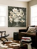 Liliáceas en una urna Mural por Linda Thompson