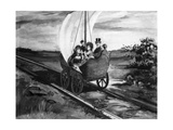 The Sail Car Giclee Print