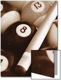 Ballen poolbiljart Poster van Boyce Watt