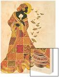 Soul's Flight Wood Print by Keith Mallett