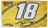 Kyle Busch One-Sided Flag with Number Flag