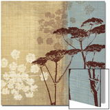 Silhouette in the Breeze Prints by Tandi Venter