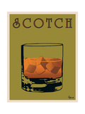 Scotch Metal Print by Lee Harlem