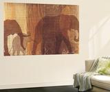 Safari Silhouette IV Wall Mural by Tandi Venter