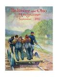 Colonel Schoonmaker Keeps the Line Open Giclee Print by Herbert Stitt