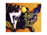 Chessie, Map Out the Tracks! Giclee Print