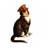 Chester Peake in Uniform Giclee Print by Charles Bracker