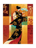 Sakura Metal Print by Keith Mallett