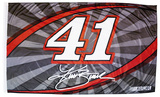Kurt Busch One-Sided Flag with Number Flag