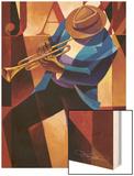 Swing Wood Print by Keith Mallett