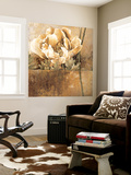 Rustic Garden II Wall Mural by Linda Thompson