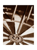 Darts Metal Print by Boyce Watt