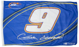 Chase Elliot One-Sided Flag with Number Flag