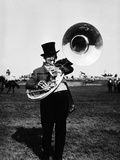 Tuba Player Photographic Print