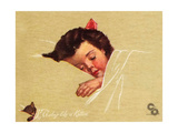 A-Sleep Like a Kitten Giclee Print by Guido Gruenwald