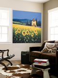 Golden Warmth Wall Mural by David Short