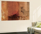 Safari Sunset I Wall Mural by Tandi Venter