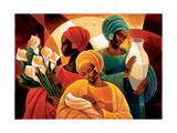 Caress Alu-Dibond von Keith Mallett