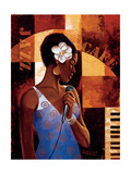 Jazz Cafe Metal Print by Keith Mallett
