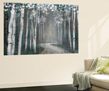 Mineral Forest Wall Mural by Tandi Venter
