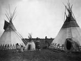 The Blackfeet Indians Fotografisk tryk