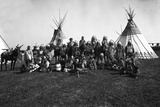 The Blackfeet Indians Photographic Print