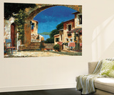 Come to My House Wall Mural by Gilles Archambault