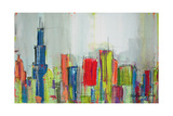 Chicago Skyline Prints by Melissa Lyons