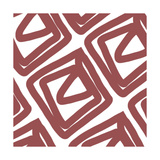 Marsala Envelope Giclee Print by Linda Woods