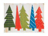 Christmas Trees II Prints by Melissa Lyons