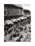 The Sheikh Gazal Market in Ashar, Basra, Iraq, 1925 Giclee Print by A Kerim