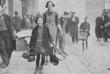 People Made Homeless by German Bombing, Liverpool, World War II, 1941 Photographic Print